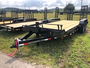Skid Steer 18ft Trailer For Sale  Skid Steer 18ft Trailer For Sale . Bumper pull with ramps