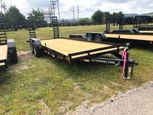 Skid Steer 10k GVW Trailer For Sale  Skid Steer 10k GVW Trailer For Sale. With Ramps