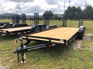 Skid Steer 10k GVW Trailer For Sale