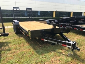 Skid Steer 14k Trailer For Sale  Skid Steer 14k Trailer For Sale. Bumper pull trailer with ramps