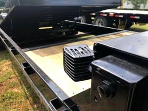 Skid Steer Tilt Bed Trailer For Sale  Skid Steer Tilt Bed Trailer For Sale. With mounted extra work lights