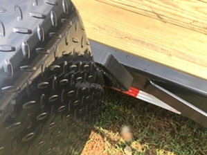 Skid Steer Tilt Bed Trailer For Sale