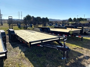 Skid Steer Trailer With 6 Lug Axles