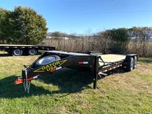 Skid Steer Trailer Tilt Bed 16k By Gator  Skid Steer Trailer Tilt Bed 16k By Gator. 4ft fixed platform, 16ft tilt bed, and 16k GVWR.