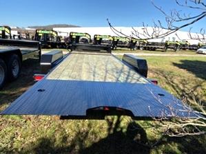 Skid Steer Trailer Tilt 14k By Gator Skid Steer Trailer Tilt 14k By Gator. Easy loading tilt bed design, dual jacks, 7,000 pound axles, and LED lights.