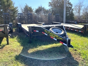 Skid Steer Trailer 20ft 14k Aardvark By Gator Skid Steer Trailer 20ft 14k Aardvark By Gator. Dual jacks, 7k dexter axles, and extra large chain storage box.